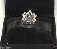 """AUTHENTIC PANDORA CHARM """"Fairytale Castle Charm,791133pcz #638"""