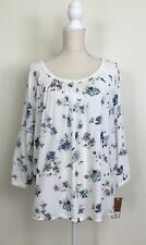 New Sonoma Blouse Top Floral