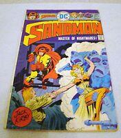 DC Comics The Sandman Master of Nightmares! November 1975 Great Comic Book