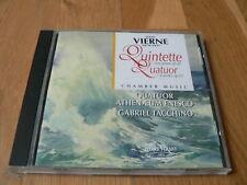 Vierne : Quintette avec piano, Quatuor - Tacchino, Athenaeum Enesco - CD PV