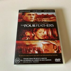 THE FOUR FEATHERS starring Heath Ledger (DVD, 2004)