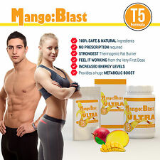 AFRICAN MANGO T5 EXTREME FAT BURNER WEIGHT LOSS DIET PILLS LOSE 14LBS FAST