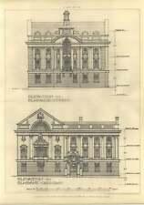 1907 Institute Of Engineers And Shipbuilders, Glasgow, Jb Wilson, Elevations