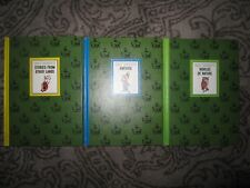 3 vtg Hc, Walt Disney Stories From Other Lands / America / Worlds of Nature 1965