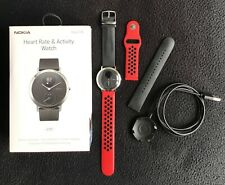 Withings  Steel HR Smartwatch Ibrido Orologio sportivo NOKIA 40mm Acciaio w.r.