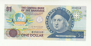 Bahamas 1 dollar 1992 UNC @ low start