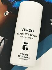 VERSO Super Eye Serum With Retinol 8 (30ml) BRAND NEW Unboxed