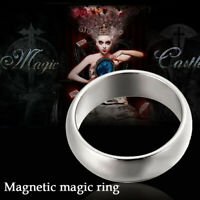 18/19/20/21mm Strong Magnetic Magic Ring Finger Magician Tool Finger Trick Prop