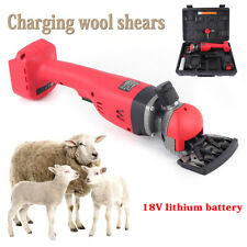 Sheep Shears Charging Wireless Electric Shearing Shears Clippers 2 Speed 18V