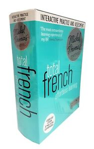 Total French Effortless Learning Michel Thomas Method Practice & Test BRAND NEW