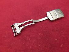 BAUME MERCIER FULL STEEL FORMULA S DEPLOYMENT CLASP BUCKLE STRAP BAND BRACELET