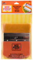 "Plaid Mod Podge Brush Applicator 4"" 10.2 cm Gold Taklon Brush Decoupage"