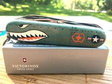 "Sprint Run-VICTORINOX SWISS ARMY KNIFE ""HUNTSMAN WARTHOG"" WWII Fighter Bomber"