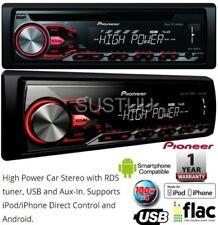 Autoradios et façades Pioneer avec interface USB simple DIN pour véhicule