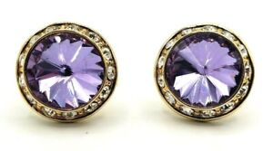 SALE!!! Cufflink Lavender Stone in a Gold Plated Metal Alloy. Actual price $ 40.