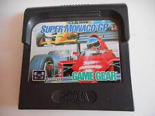 SEGA GAME GEAR - SUPER MONACO GP