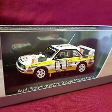Minichamps, 1:43, Audi Sport quattro, Rally Monte Carlo 1985, Dealer Edition
