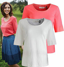 Seasalt Organic Cotton Scoop Neck Tops & Shirts for Women