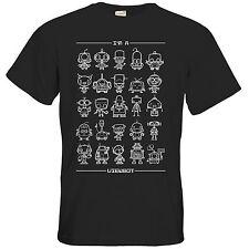 Bequem sitzende Herren-T-Shirts mit Rundhals