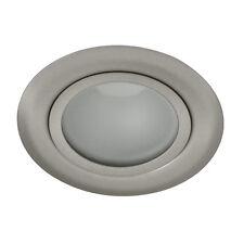 LED Möbelleuchte Einbauleuchte GAVI 18 SMD warmweiss mattchrome flach 0,8W 12V
