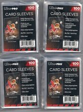 400 Ultra Pro Soft Penny Poly Sleeves fits Baseball Card 3x4 Top Loaders NEW