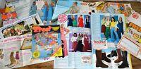 Job Lot of Vintage 1970s Marshall Ward Catalogue Ephemera - Fashions Home Wares