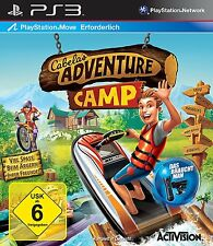 CABELAS ADVENTURE CAMP per PlayStation 3 ps3 | PS Move | merce nuova | tedesco