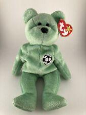 ⭐️ Ty 1999 Beanie Baby Kicks the Soccer Bear 🎏