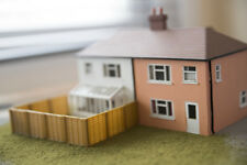 OO Gauge 6ft Fence Panels 12 Pack 00 Scale