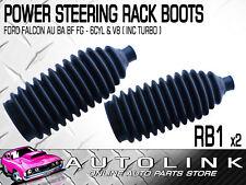 POWER STEERING RACK BOOTS FOR FORD FALCON AU BA BF FG SEDAN WAGON UTE 6CYL V8 x2