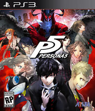 Persona 5 ✅✅ Play Station 3 ✅  BEST price on eBay ✅  Digital download Game ✅✅