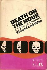 Death on the Hour by Lockridge hb dj 1974-BUY ANY 4 BOOKS TO GET FREE SHIPPING!