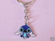 CUTE DISNEY BLUE LILO & STITCH KEYRING/Keychain/bag charm