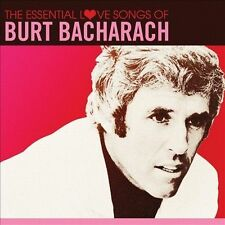 The  Essential Love Songs of Burt Bacharach by Burt Bacharach (CD, Jan-2013, Sp…