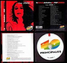 POP ESPAÑOL 2000.1- SPAIN LIBRO CD -CANTO LOCO / AMARAL
