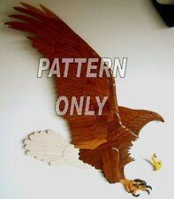 Intarsia wood pattern:EAGLE  (Original) NEW