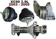 9R3707 4pc Motor Mounts fit AWD 2003 - 2005 Volvo XC90 2.9L Engine Transmission