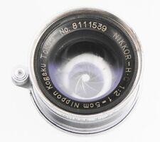 Nikkor 5cm f2 Coll. Leica SM  #8111539