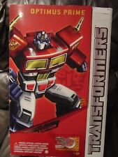 Obra maestra de Transformers Optimus Prime Platinum Edition Año Caballo 2014 Hasbro