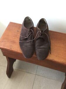 Hugo Boss Men's Suede Shoes size 8 (42)