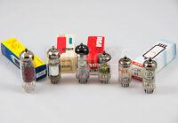 Kit de valvulas nuevas ECC85 ECH81 EF89 EABC80 EL84 EM80 New radio tubes kit.