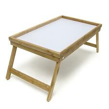Bamboo Folding Breakfast Bed Laptop Holder Stand Lap Desk Serving Tray