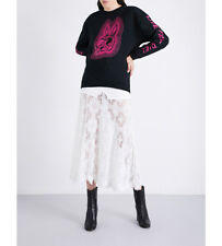 % 100 Authentic Women Live fast die print   Sweatshirt black