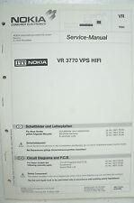 NOKIA - VR 3770 VPS HIFI - Schaltbilder - Service Manual - B2515