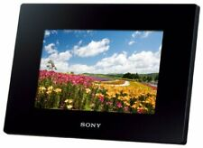 SONY Digital Photo Frame D720 Black DPF-D720/B - International Version (No