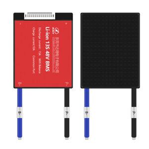 13S BMS Li-ion 15A-60A 48V 18650 Balance Board PCB Battery Protection