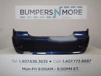 OEM 2008-2010 BMW 528i/528xi/535xi/535i Base w/o M w/o Sensors Rear Bumper Cover