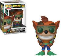 Funko Pop! Games: - Crash Bandicoot - Crash W/ Scuba (Toy Used Very Good)