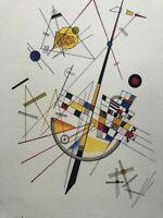 Wassily Kandinsky, Tensione delicata, litografia 35x25 - 1923