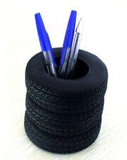 YOURNELO Tire Shape Pen Stand Pencil Holder Desk Organizer Accessories